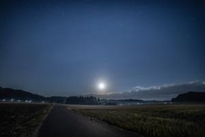 新田野の夜