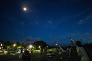 第5回いすみ市星空観望会の風景
